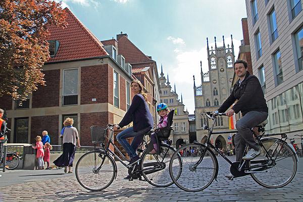 Fahrrad Sightseeing in der Fahrradstadt Münster